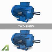 Motor eléctrico AM 1.5kW modelo 3d