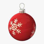 Christmas Ball 01 3d model