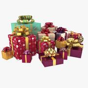 christmas presents 3d model