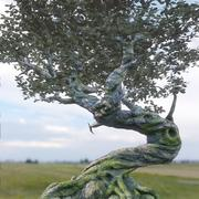 Дерево фантазии 3d model