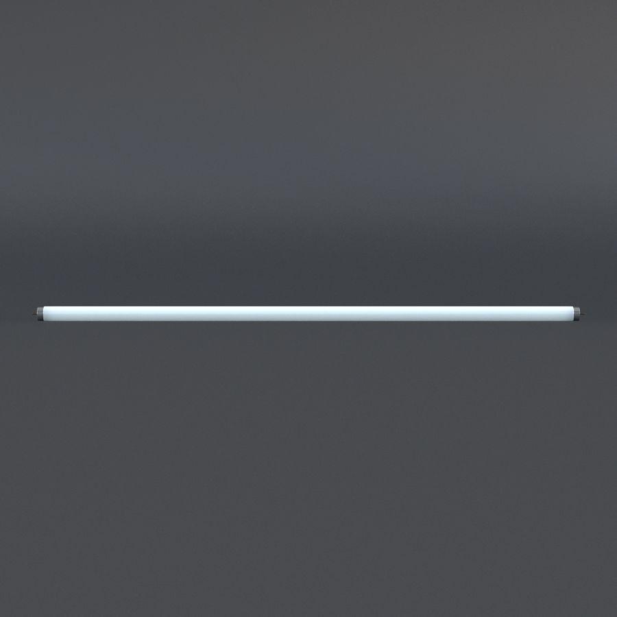Bombilla fluorescente de luz de tira royalty-free modelo 3d - Preview no. 5