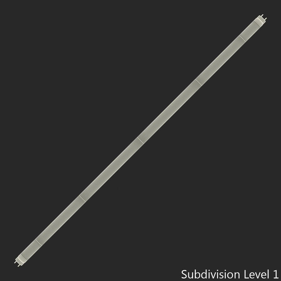 Bombilla fluorescente de luz de tira royalty-free modelo 3d - Preview no. 11