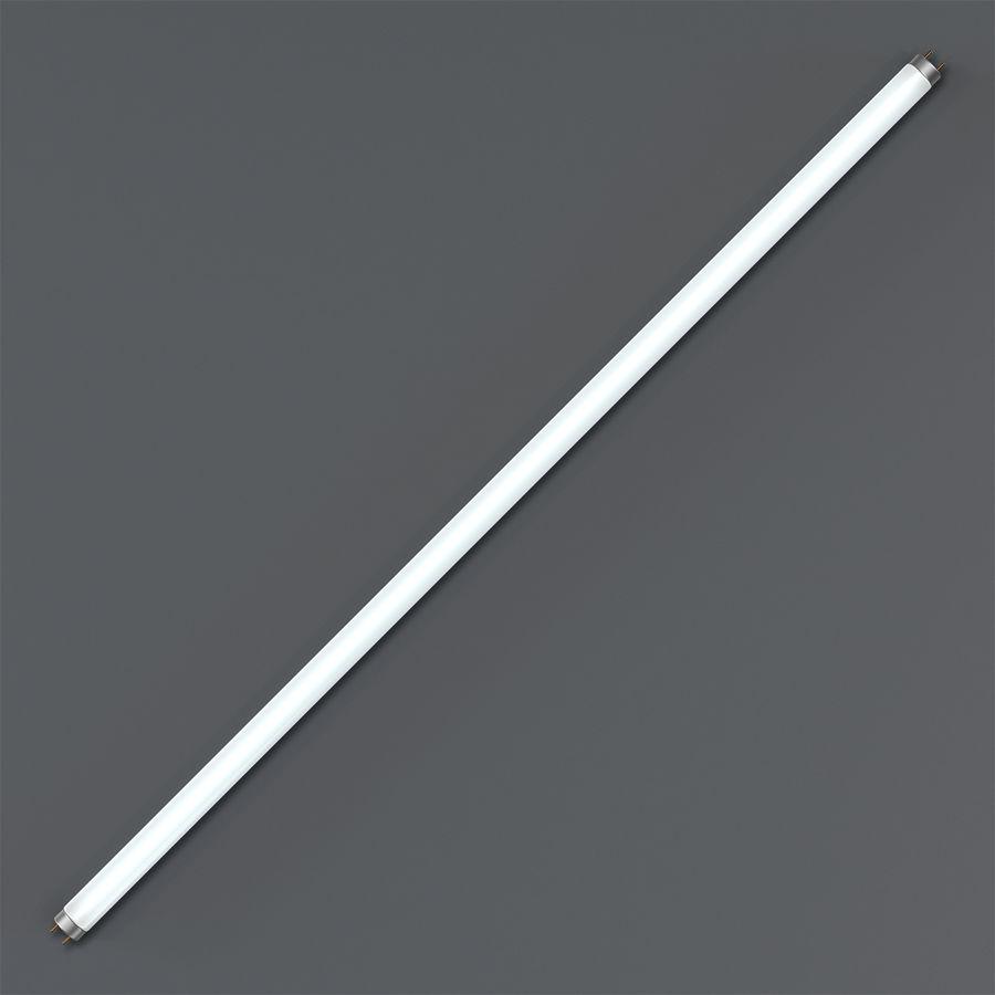Bombilla fluorescente de luz de tira royalty-free modelo 3d - Preview no. 2