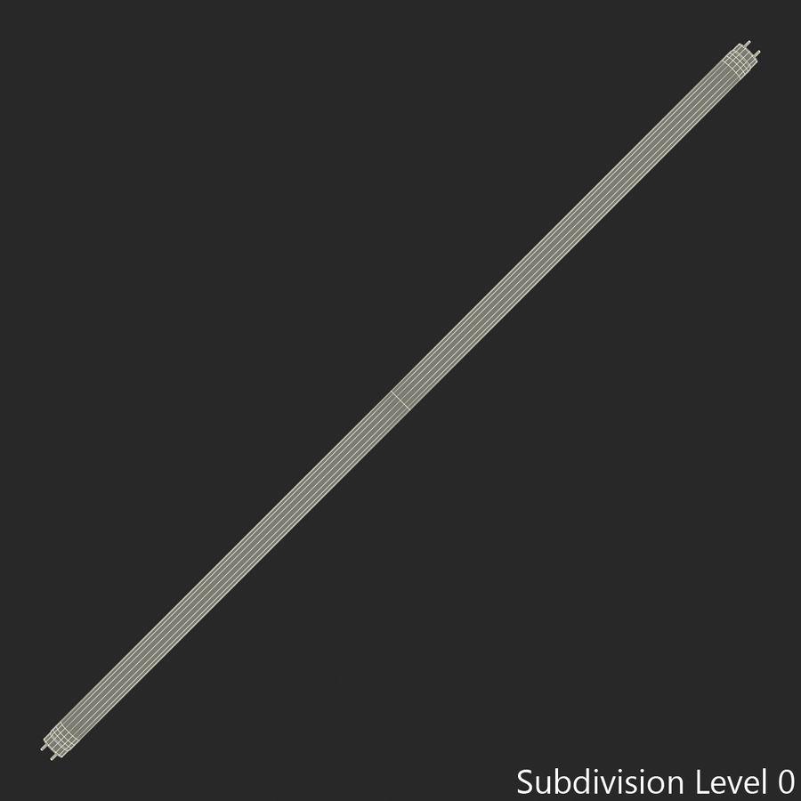Bombilla fluorescente de luz de tira royalty-free modelo 3d - Preview no. 10