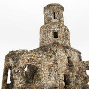 Ruïnes kerk 3d model