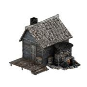 Medieval foundry 3d model