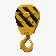 crane hook 3d model