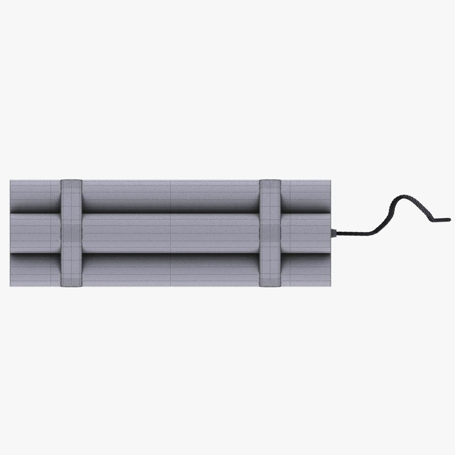 Cartoon Dynamite Bomb royalty-free 3d model - Preview no. 4