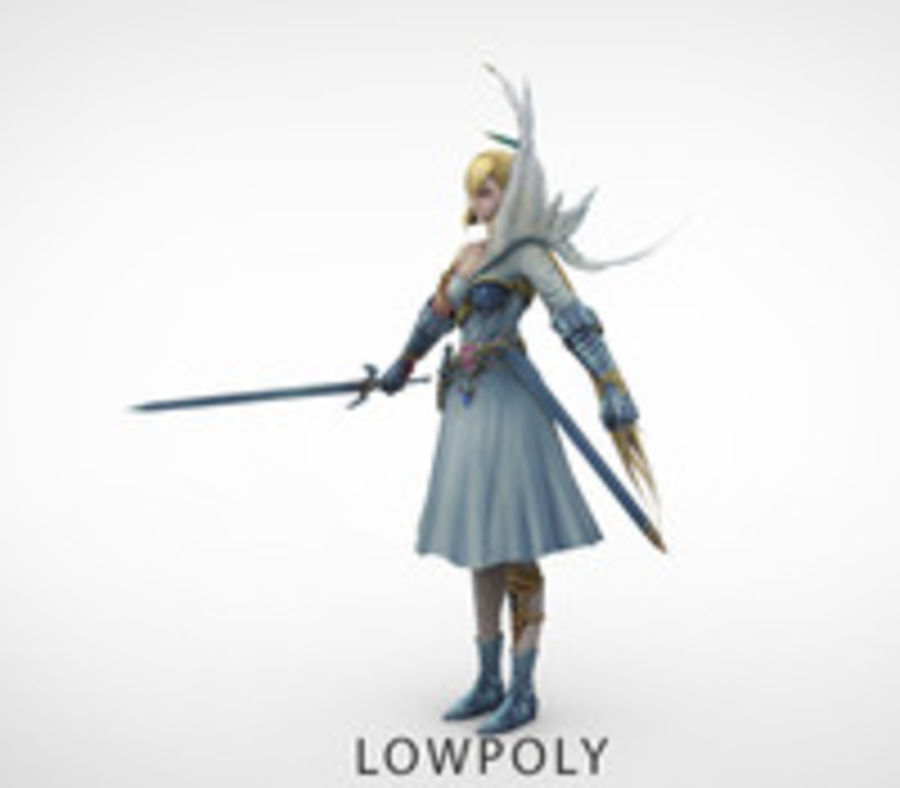 figure_v3 royalty-free 3d model - Preview no. 1