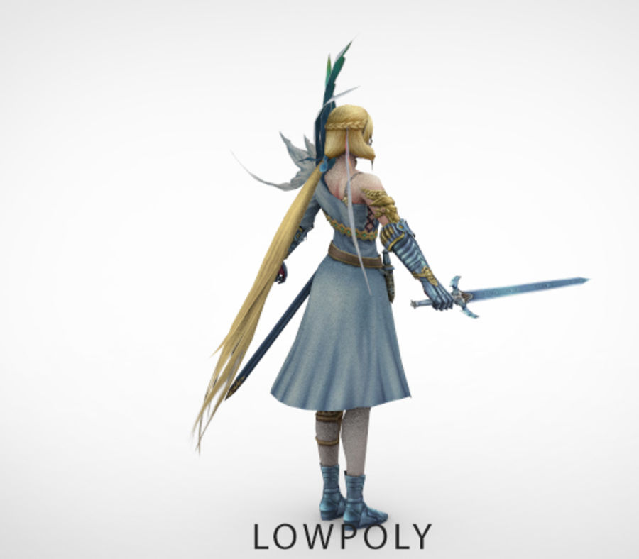 figure_v3 royalty-free 3d model - Preview no. 4