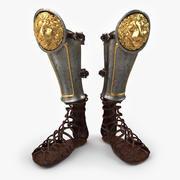 Roman Boots 3d model