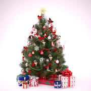 Christmas tree Beautiful Discount 3d model