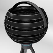 Virtual Reality Video Camera 3d model