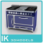 48W-4 Surface Burner-Griddle 3d model
