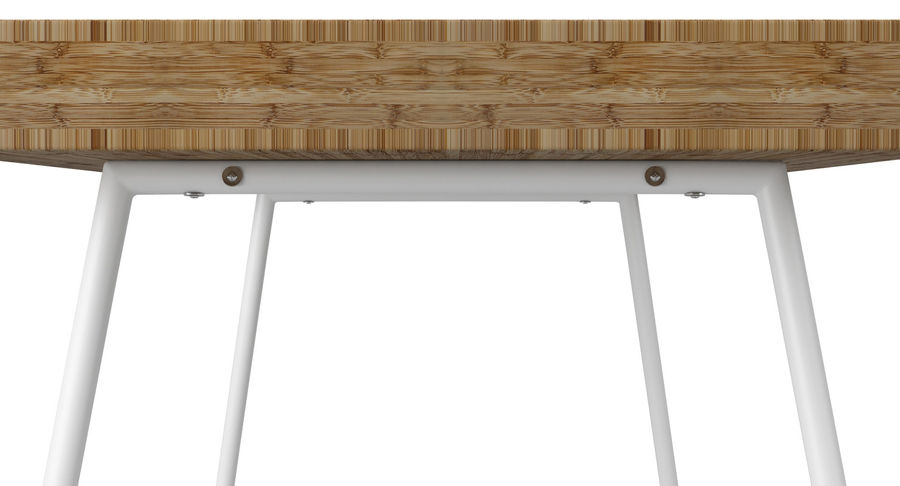 Biurko Ikea Lillasen royalty-free 3d model - Preview no. 11