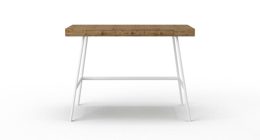 Biurko Ikea Lillasen royalty-free 3d model - Preview no. 4