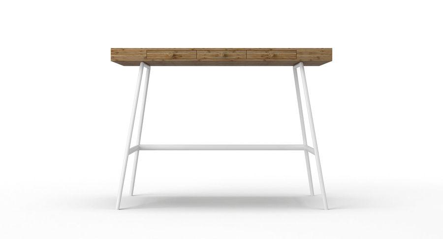 Biurko Ikea Lillasen royalty-free 3d model - Preview no. 6