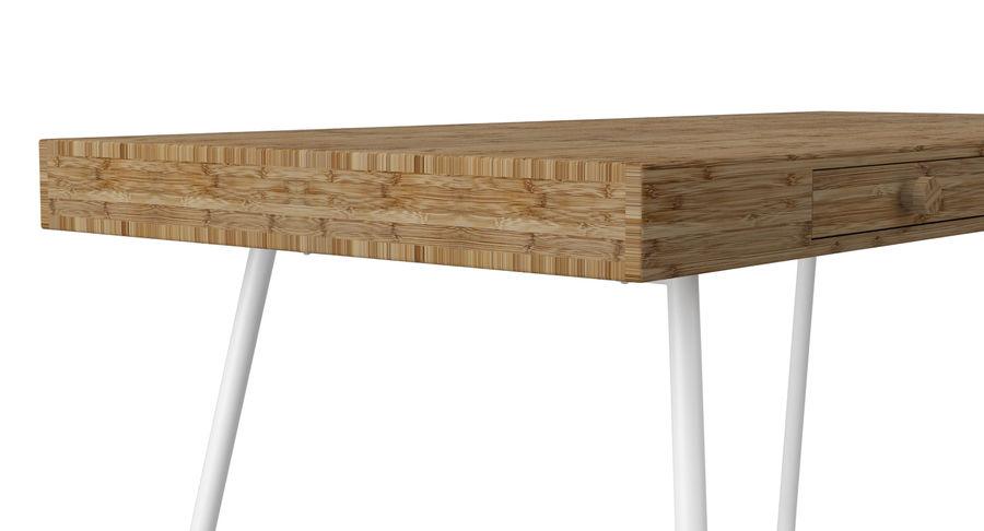 Biurko Ikea Lillasen royalty-free 3d model - Preview no. 9