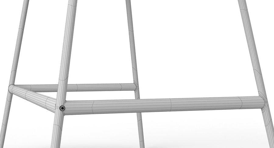 Ikea Lillasen Schreibtisch royalty-free 3d model - Preview no. 16
