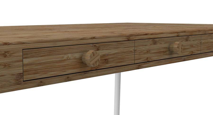 Biurko Ikea Lillasen royalty-free 3d model - Preview no. 10