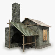 Old Smithy 3d model