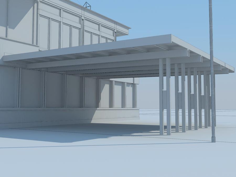 aeropuerto royalty-free modelo 3d - Preview no. 12