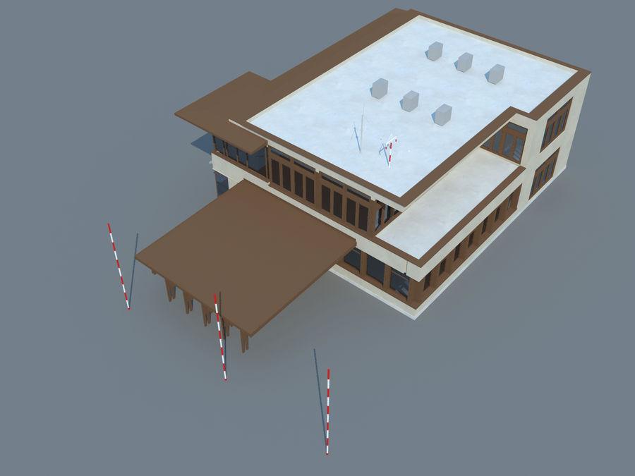 aeropuerto royalty-free modelo 3d - Preview no. 10