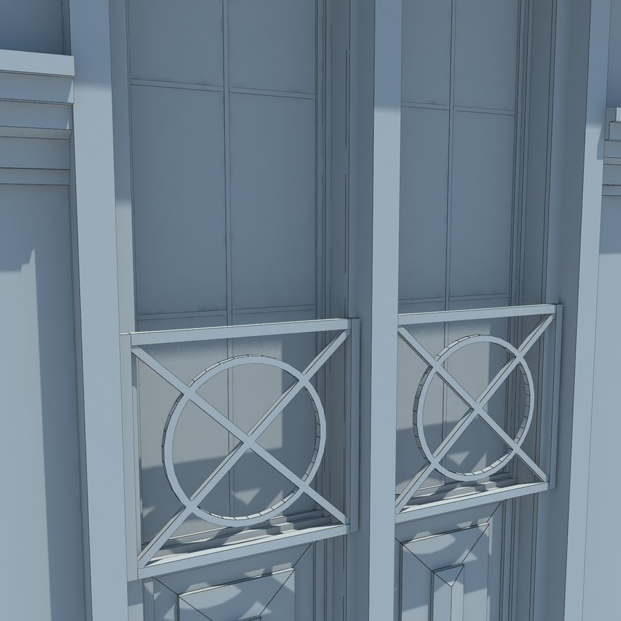 House cottage royalty-free 3d model - Preview no. 12
