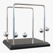 Perpetual Motion Machine 2 Rigged 3D Model 3d model