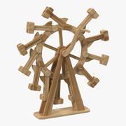 Perpetual Motion Machine Rigged 3D Model 3d model