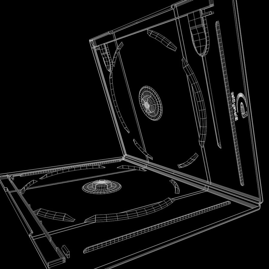 Obudowa Blu-Ray 2 royalty-free 3d model - Preview no. 14