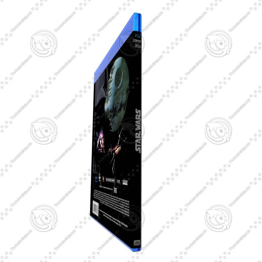 Obudowa Blu-Ray 2 royalty-free 3d model - Preview no. 4