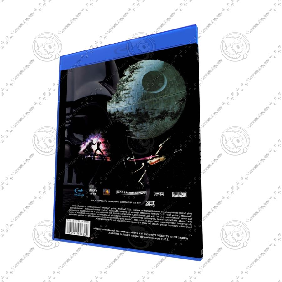 Obudowa Blu-Ray 2 royalty-free 3d model - Preview no. 3