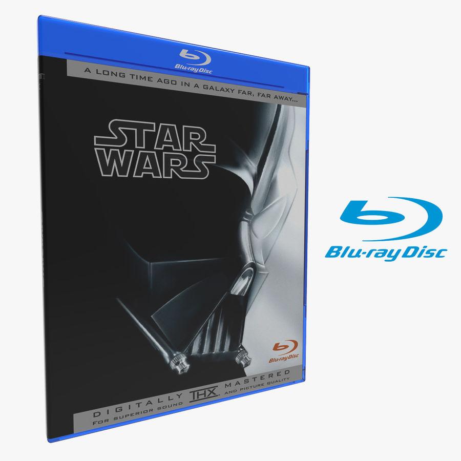 Obudowa Blu-Ray 2 royalty-free 3d model - Preview no. 1