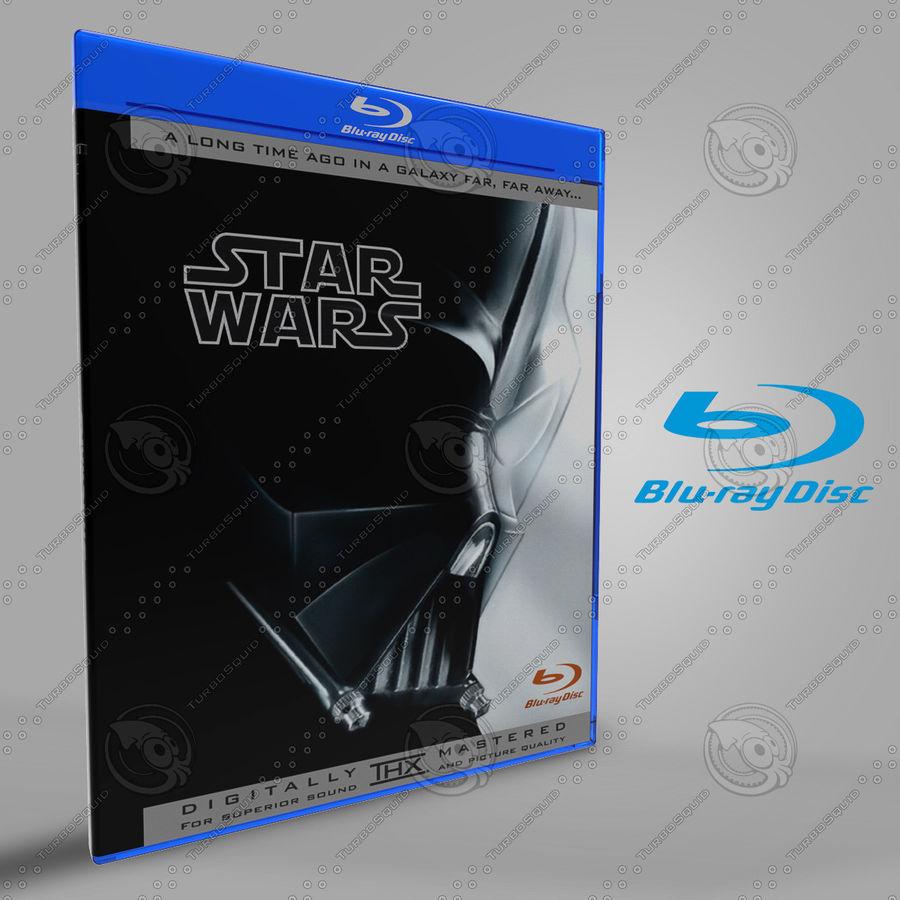 Obudowa Blu-Ray 2 royalty-free 3d model - Preview no. 2