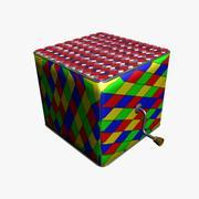 Gubben i lådan 3d model