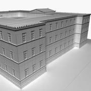 Legislazione edificio della Grecia 3d model