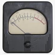 Vintage Meter 1 3d model