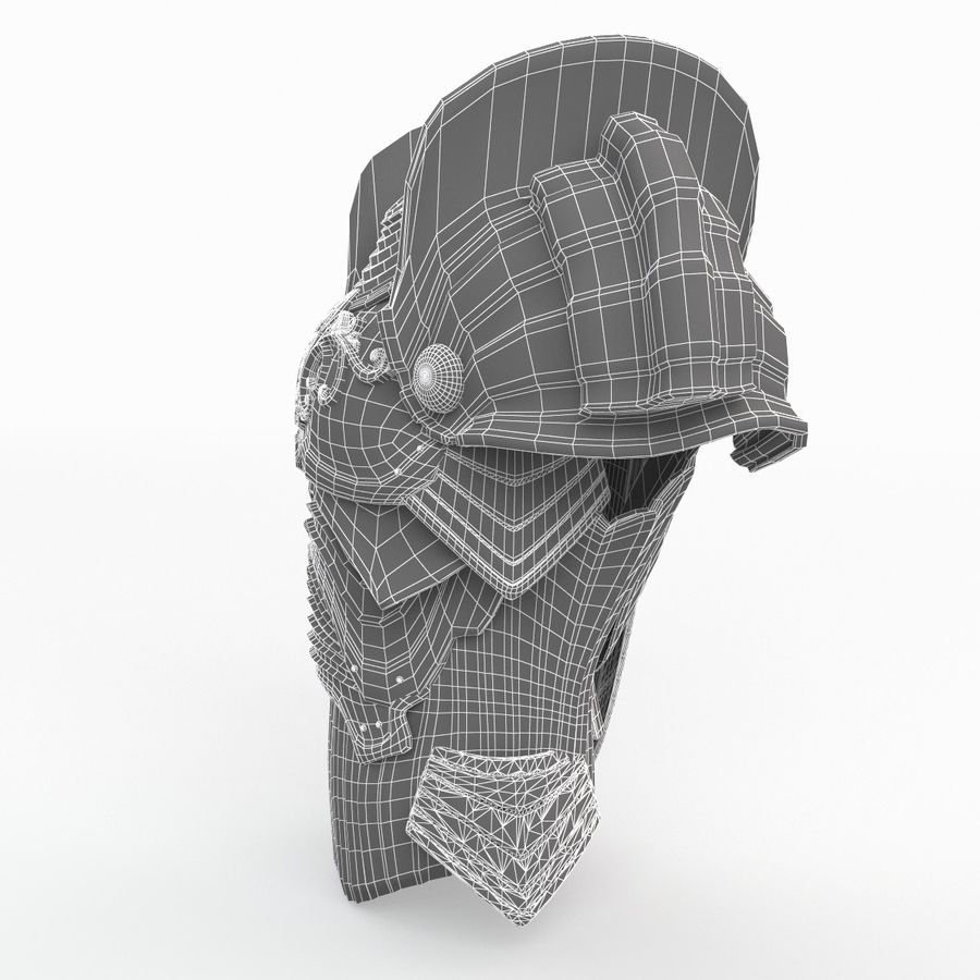 Armour v3 royalty-free 3d model - Preview no. 9