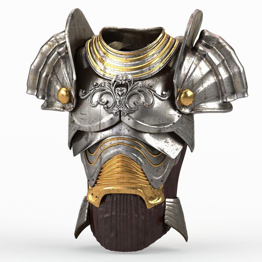 Armour v3 royalty-free 3d model - Preview no. 6
