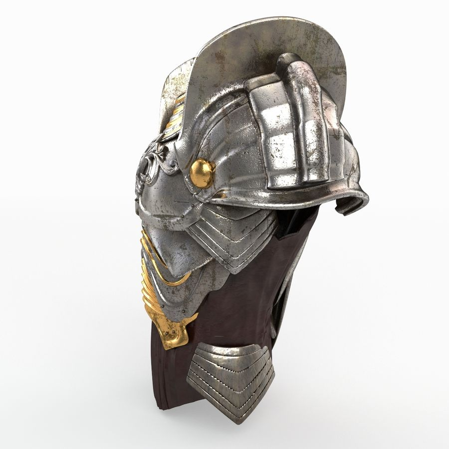 Armour v3 royalty-free 3d model - Preview no. 2