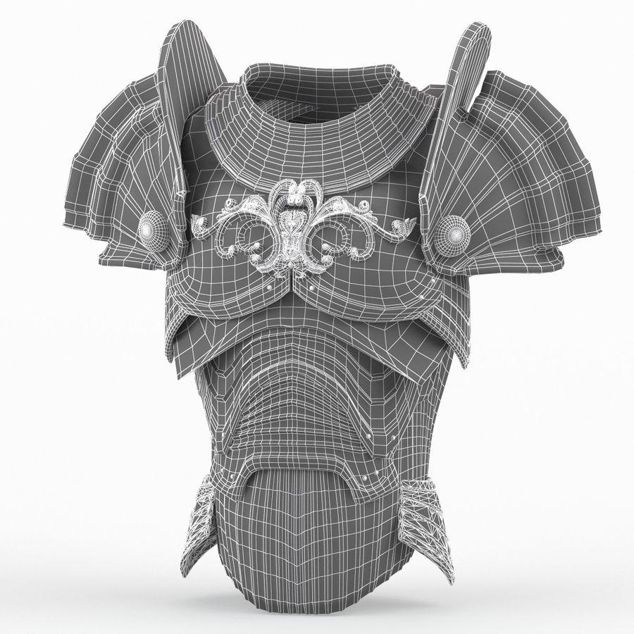 Armour v3 royalty-free 3d model - Preview no. 13