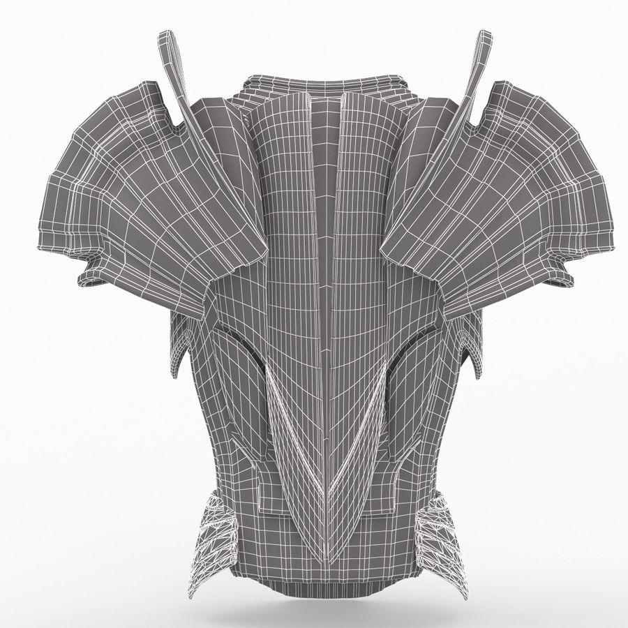 Armour v3 royalty-free 3d model - Preview no. 10