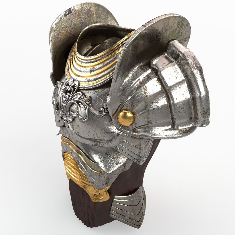 Armour v3 royalty-free 3d model - Preview no. 4