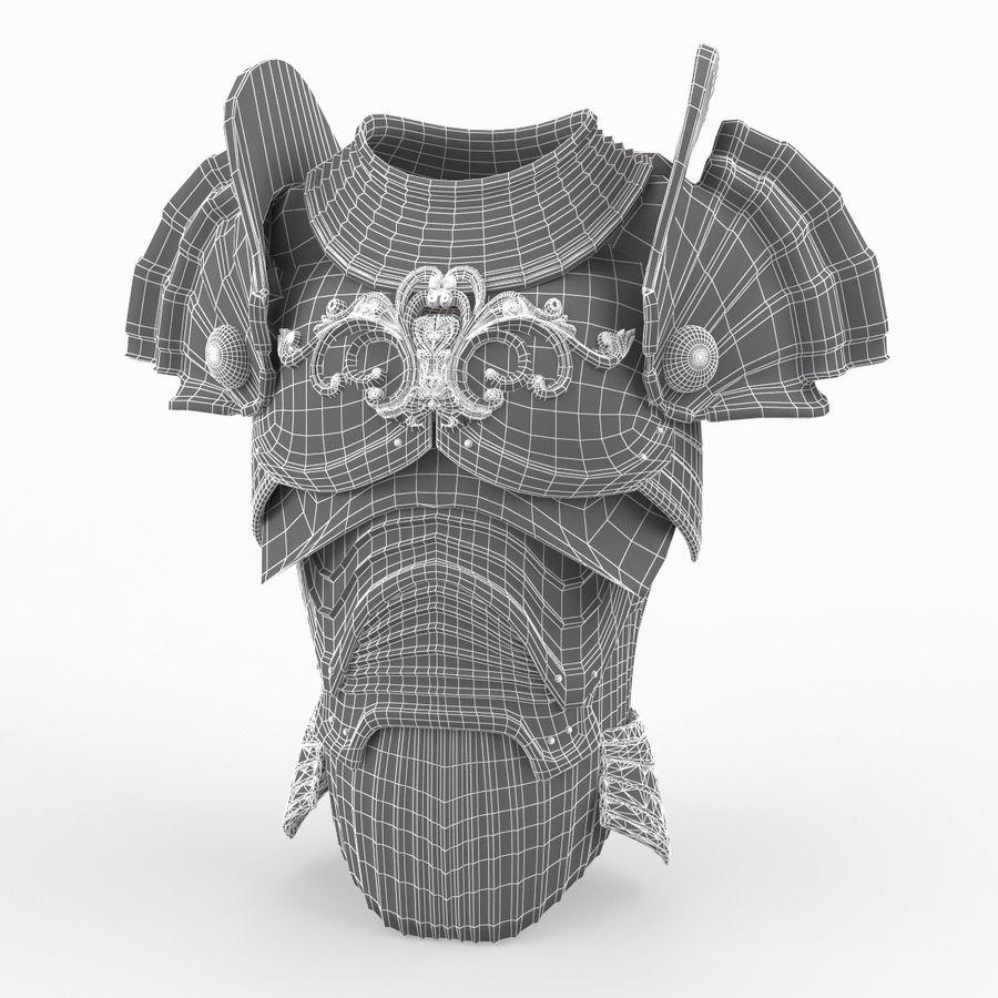 Armour v3 royalty-free 3d model - Preview no. 8