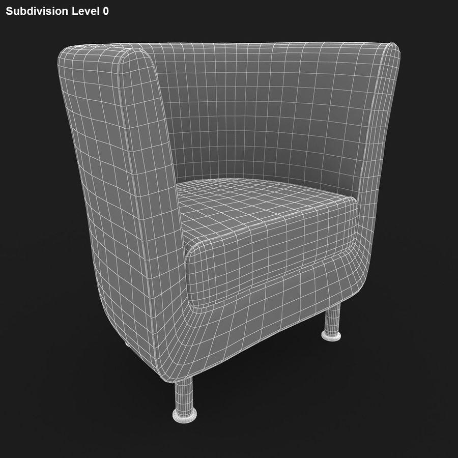 Koltuk 04 royalty-free 3d model - Preview no. 14