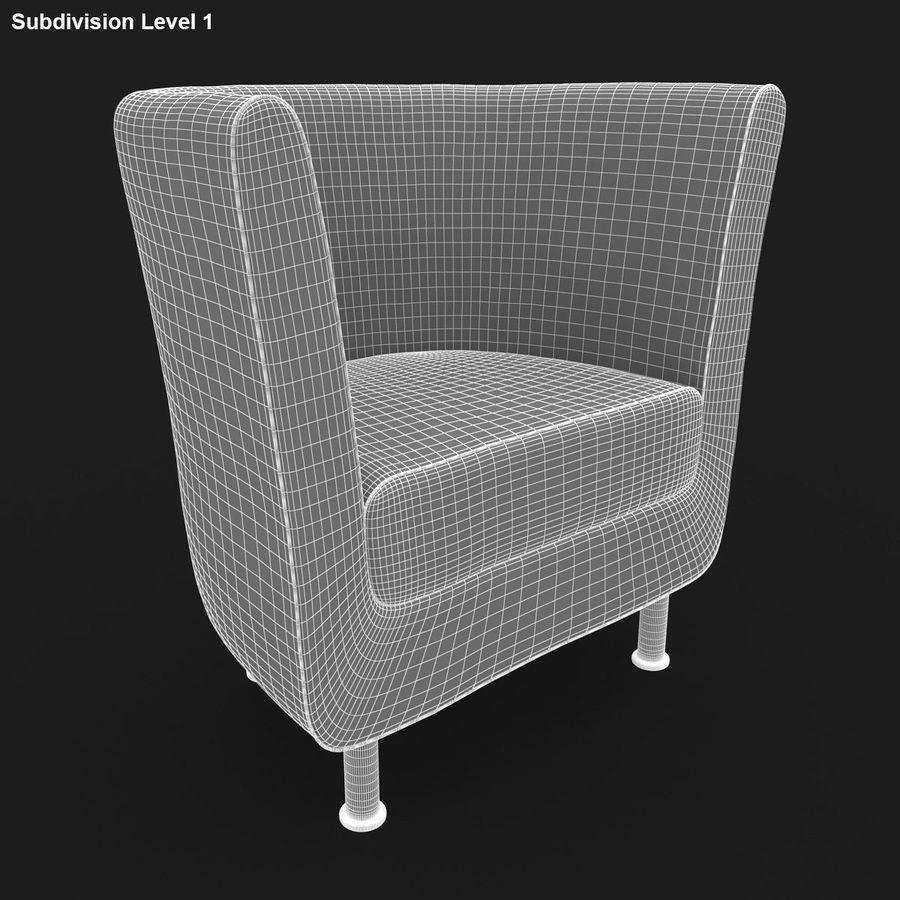 Koltuk 04 royalty-free 3d model - Preview no. 15