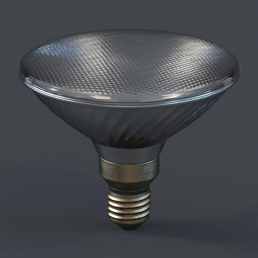 Bombilla de luz de inundación Modelo 3D royalty-free modelo 3d - Preview no. 3