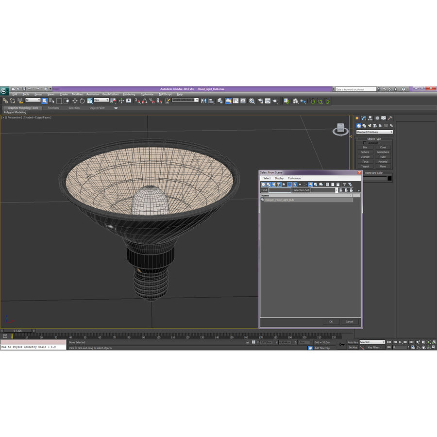 Bombilla de luz de inundación Modelo 3D royalty-free modelo 3d - Preview no. 17