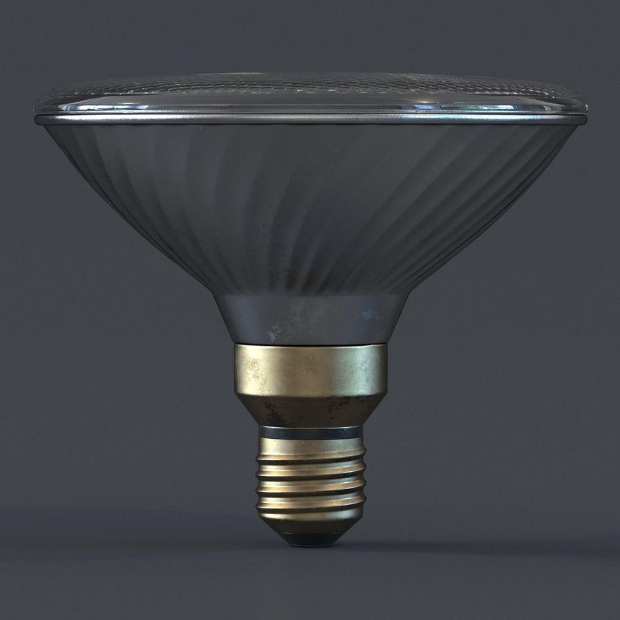 Bombilla de luz de inundación Modelo 3D royalty-free modelo 3d - Preview no. 4